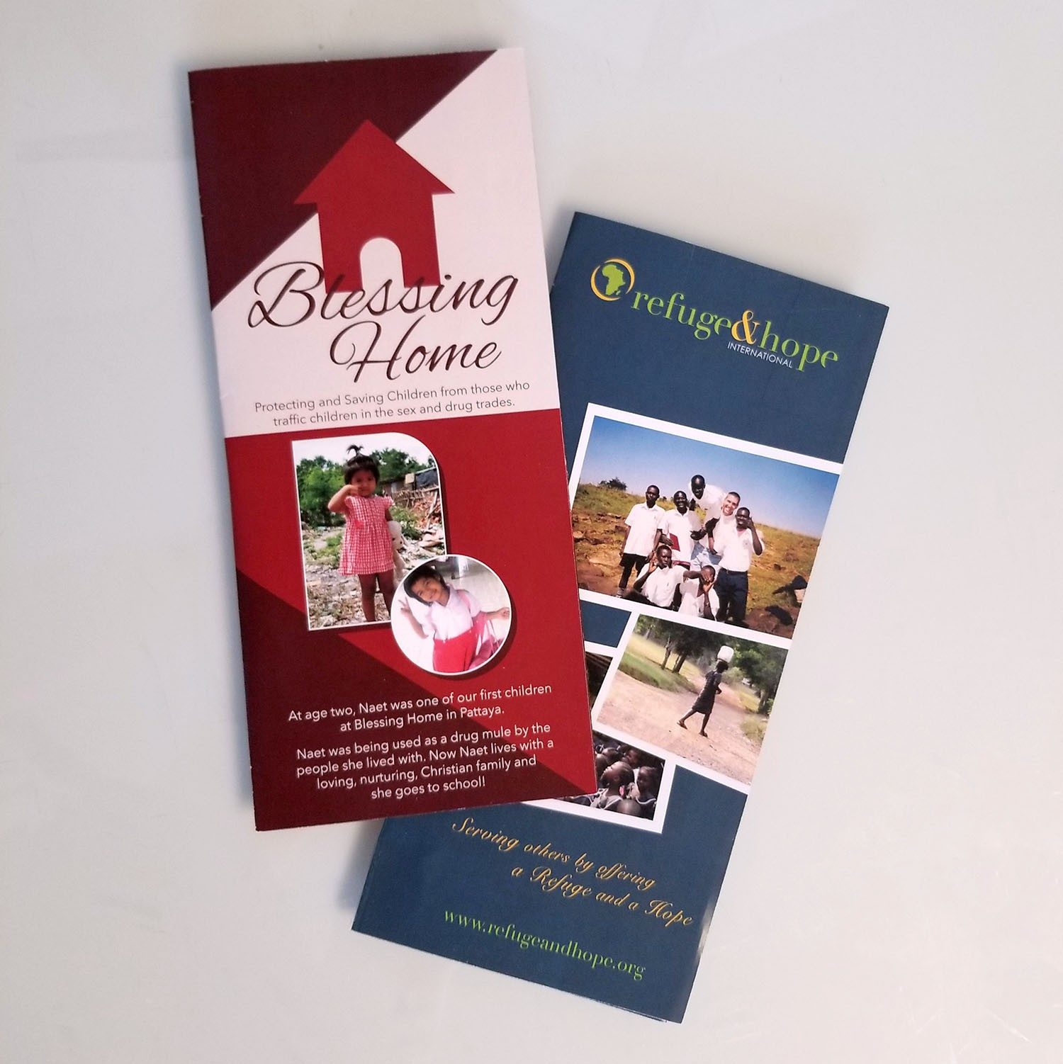 Brochures for Missionary Work and Ministry Fundraising - MissionaryCards.com