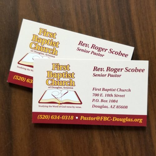 Business Cards for Missionaries and Ministry Work - MissionaryCards.com