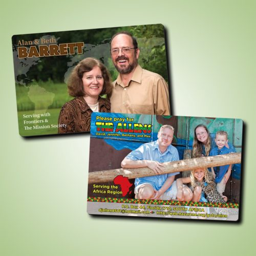 Magnets for Missionary Fundraising and Ministry Work - MissionaryCards.com