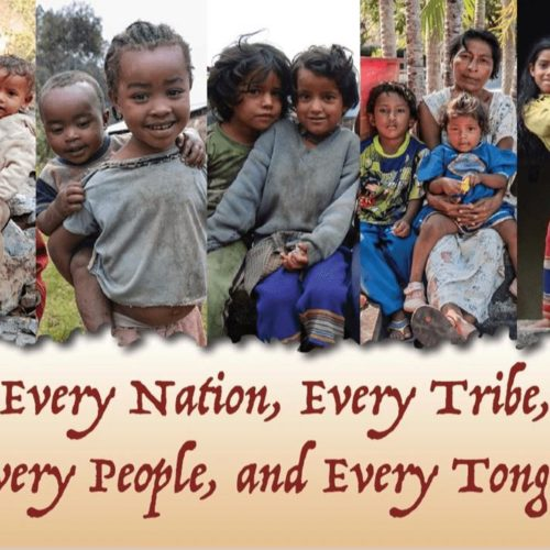 "Thank You Note Cards for Missionaries :Every Nation, Every Tribe, Every People, Every Tongue"" - MissionaryCards.com"