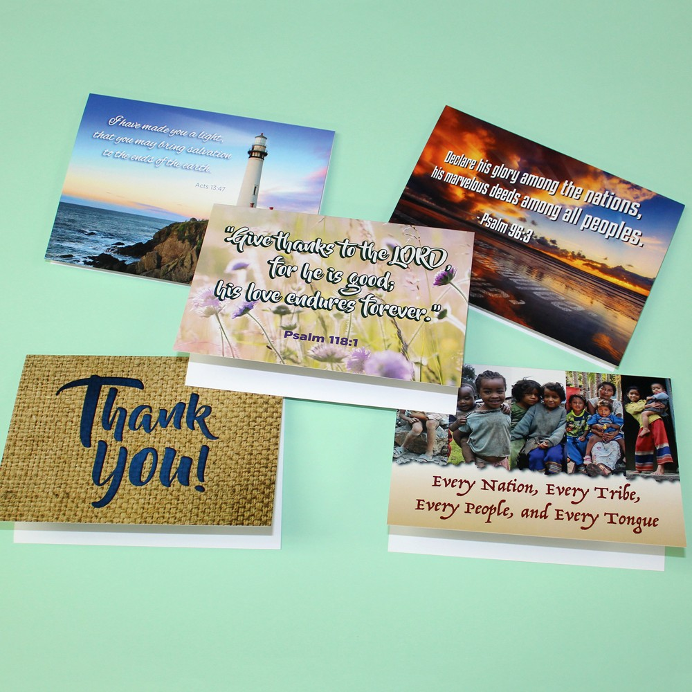 Thank You Note Cards for Missionaries - MissionaryCards.com